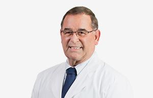 Dr. Steven Shute in white coat