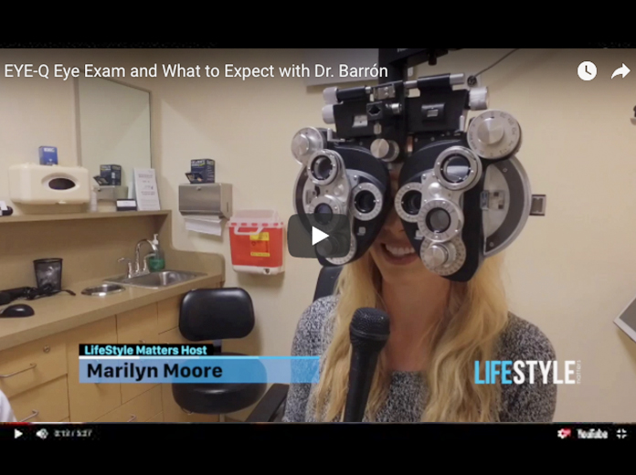 What to Expect at Your Next Eye Exam with Dr. Barrón