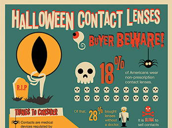 Halloween Contact Lenses Are Causing Scary Problems